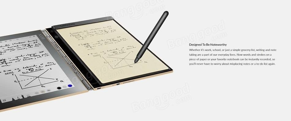 Lenovo Box Lenovo Yoga Book 64GB Intel Atom X5 Z8550 Quad
