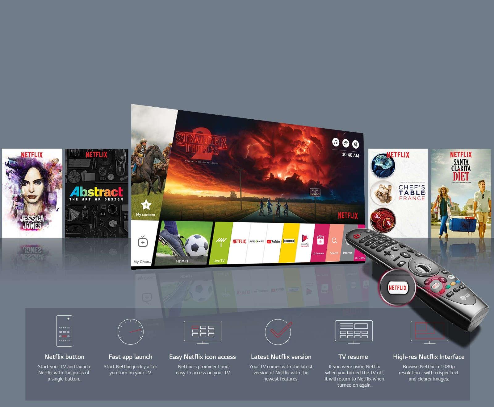 LG 55UK6300 - 55 inch Smart UHD 4K LED TV - New 2018 model
