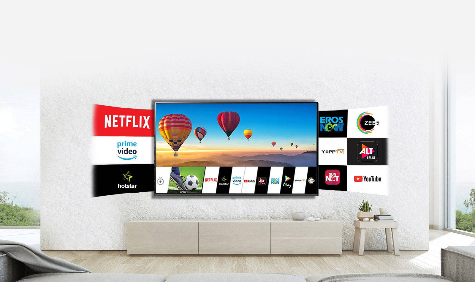 LG Live Smarter with AI ThinQ™ NanoCell TV