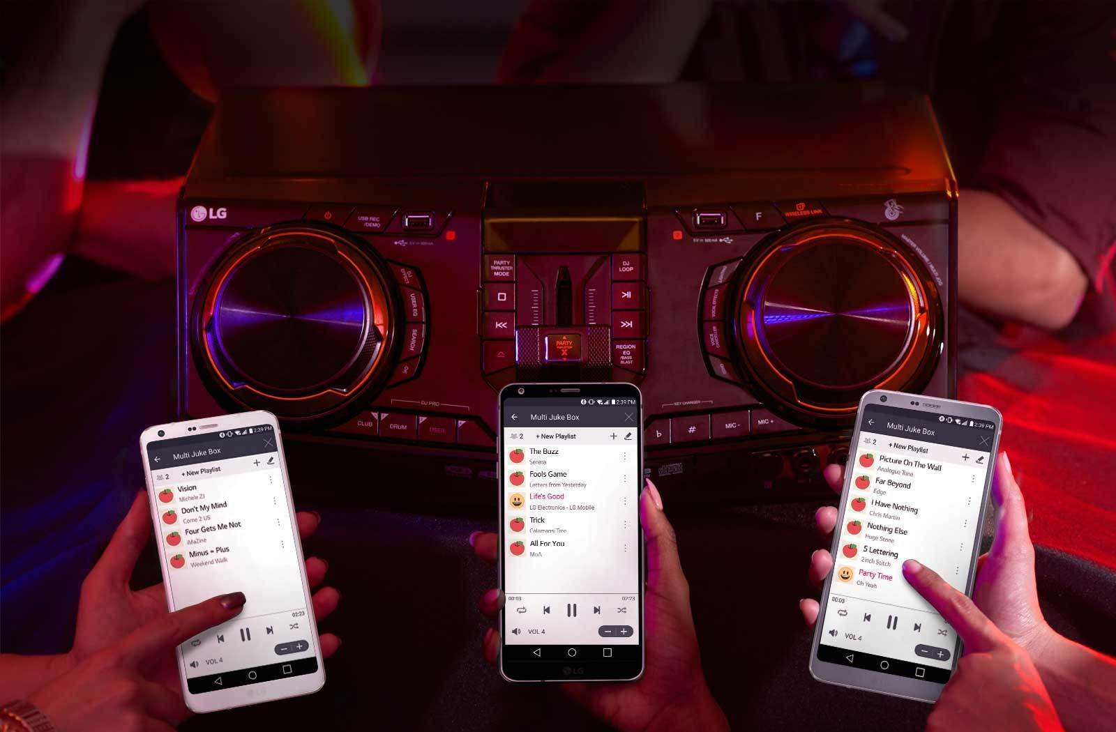 Multi Jukebox, build a playlist with your friends