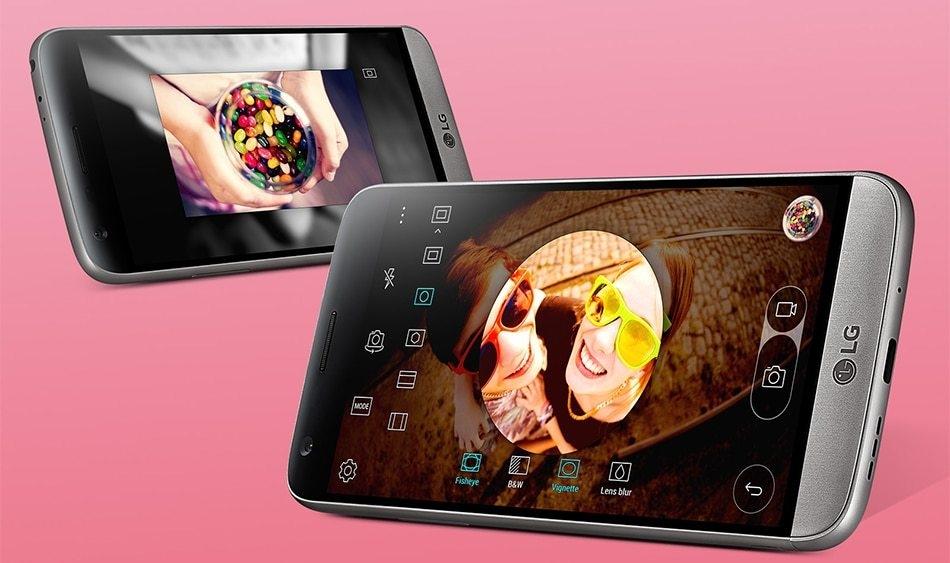 Refurbished LG G5 4GB RAM 32GB ROM  5.3inch 4G LTE Mobile Phones 16MP Camera Smartphones white 5
