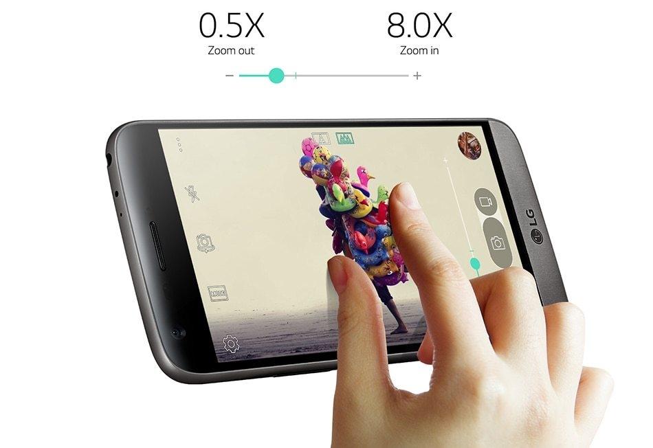 Refurbished LG G5 4GB RAM 32GB ROM  5.3inch 4G LTE Mobile Phones 16MP Camera Smartphones white 4