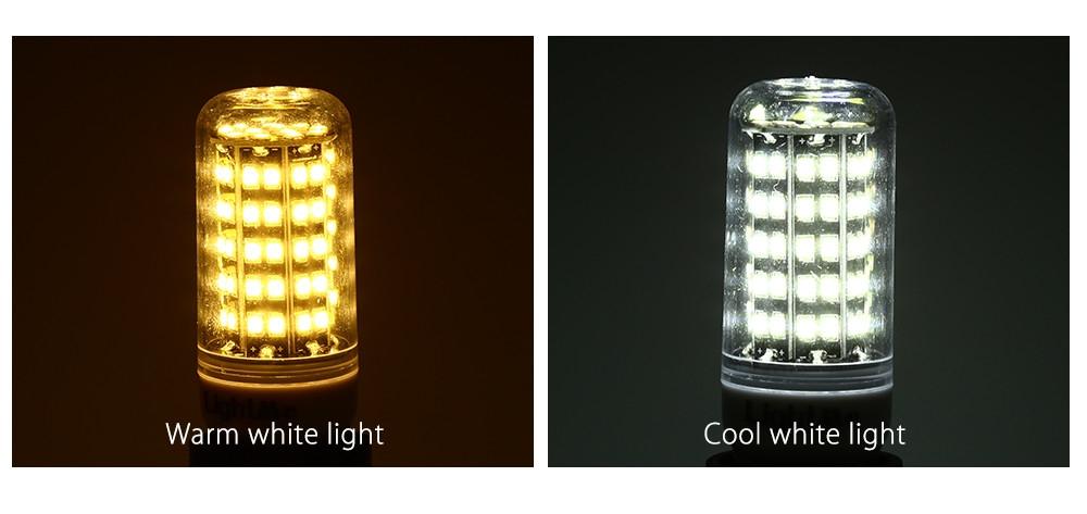 Lightme GU10 AC 85 - 265V 5W 400LM SMD 2835 LED Corn Bulb Light Energy Saving Lamp with 82 LEDs