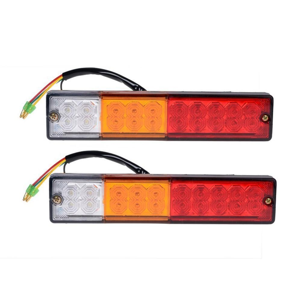 Buy Louis Will Waterproof 2pcs 20 Led Car Truck Trailer Tail Wiring Boat To Material Abs Housing Pc Lens 5 Wires Connection System Function Brake Steering Reversing Fit For Trailers Trucks Utes Caravans Etc