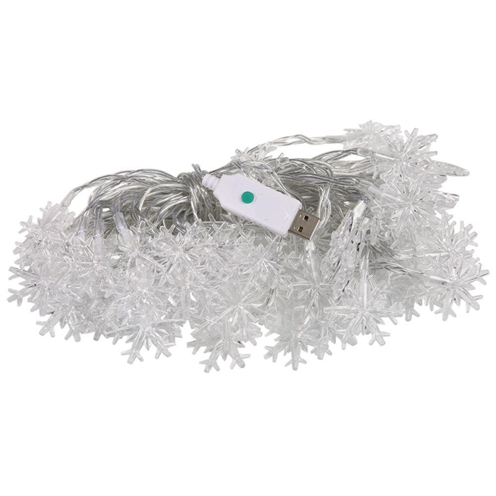 Buy Louis will 10M 60 LED Snowflake Christmas Creative Design Strip ...