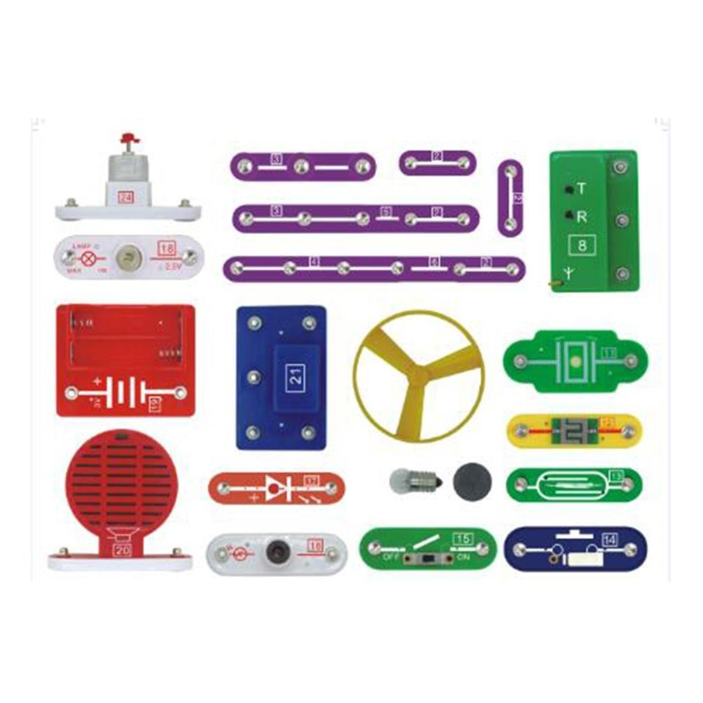 Buy Louis Will Kids Science Kitelectronic Building Block Kitdiy Circuit For Tv Sets And Refrigerator Electronic Projects They Also Can Design Your Own Circuits Use The Components To Experiment Create Their Customized Devicesthrough