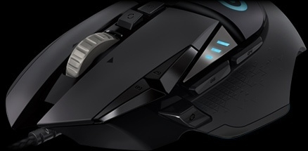 G502 Proteus Spectrum RGB Tunable Gaming Mouse WWD