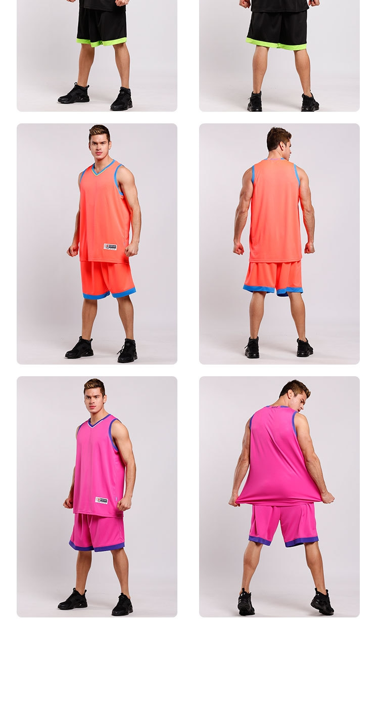 2f7ffaeed Longo High Quality Men s Customized Basketball Team Sports Jersey ...