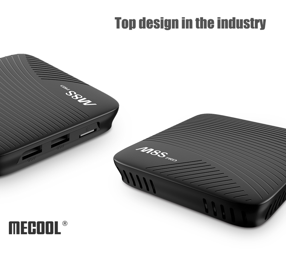 MECOOL M8S PRO Android 7.1 TV Box 1.5GHz ARM Cortex-A53 CPU 64bit Media Player