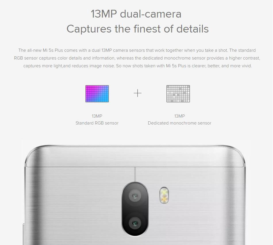 Xiaomi mi 5s mi5s Plus