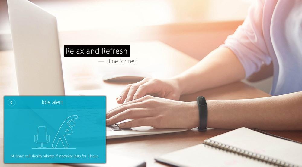 Buy Xiaomi Xiaomi Mi Band 2 Smart Watch With Bluetooth 4 0