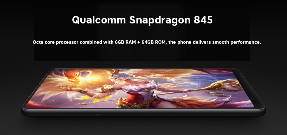 Xiaomi Mi Mix 2S 4G Phablet MIUI 9 Qualcomm Snapdragon 845 Octa Core 6GB + 64GB