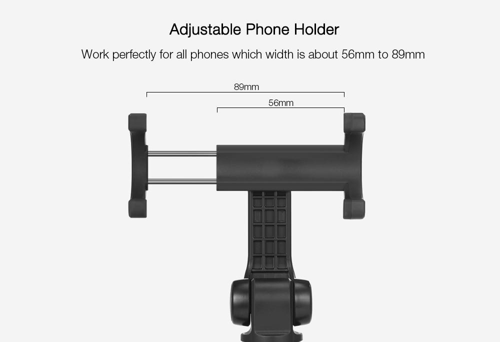 Xiaomi Tripod Mount Holder Selfie Stick Wireless Bluetooth 3.0 Remote Control