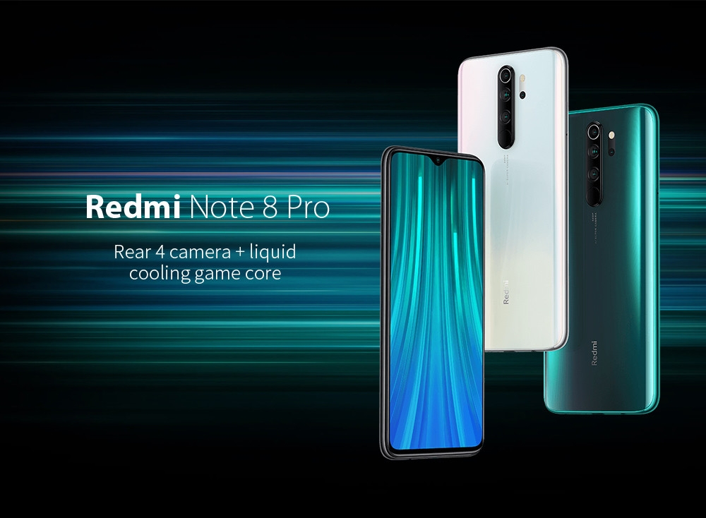 Xiaomi Redmi Note8 Pro Global Version 6+64GB Mineral Grey EU