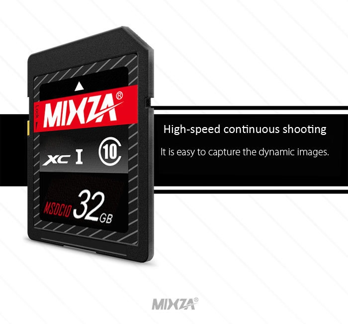 MIXZA Memory Card 32GB SDXC Card Data Storage Gadget for Digital Camera