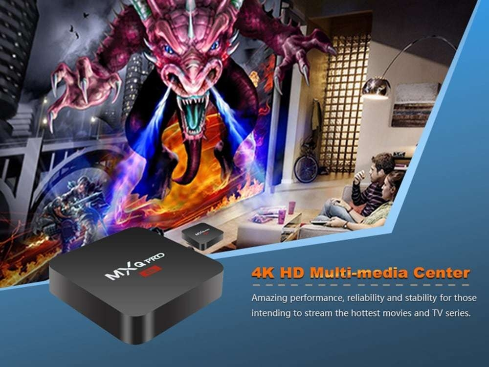 MXQ PRO TV Box Amlogic S905W 1GB + 8GB Android 7.1
