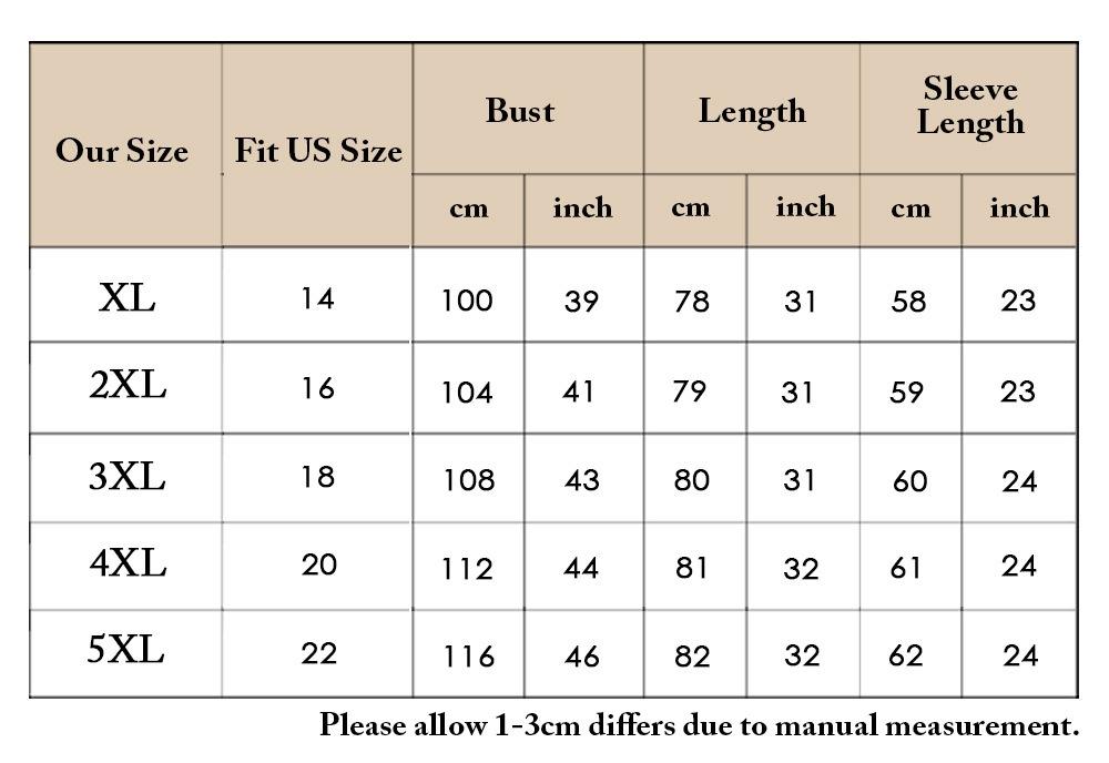 Plus Size Slit Stripes Long Sleeve Coat