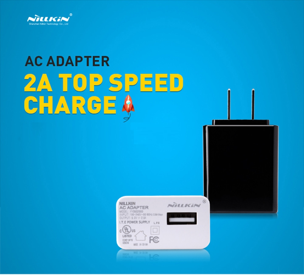 NILLKIN 5V 2A Multifunctional Travel Charger Adapter