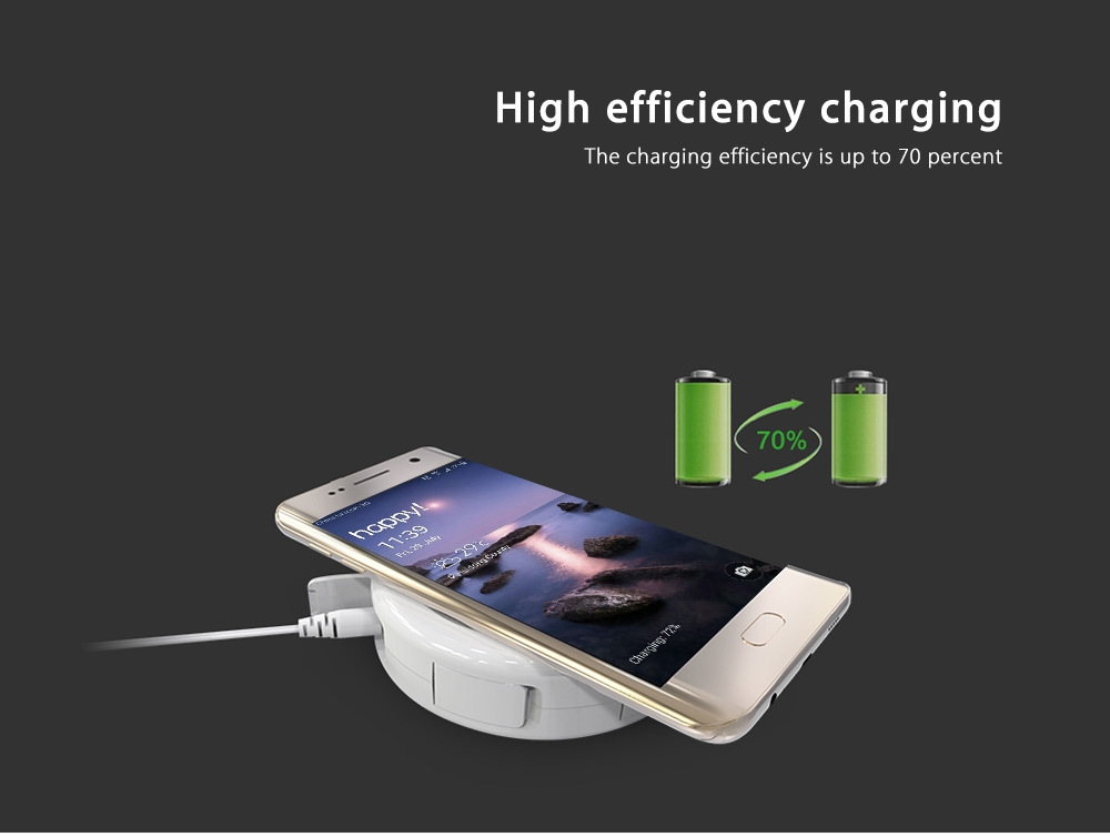NILLKIN MC010 Multifunctional Qi Wireless Charger with 4 USB Output Port