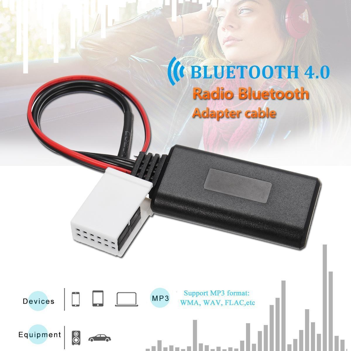 Generic bluetooth Audio Adapter Cable For VW MCD RNS 510 RCD