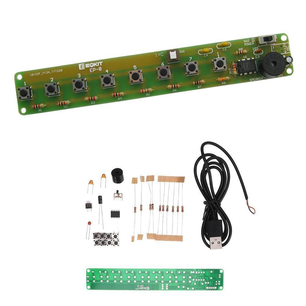 Generic EQKIT Simple Electronic Organ Kit DIY NE555