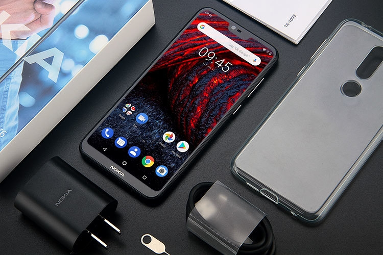 NOKIA X6 4GB RAM 64GB ROM Qualcomm Snapdragon 636 1.8GHz Octa Core 5.8 Inch Corning Gorilla Glass FHD+ Screen Dual Camera Android 8.1 4G LTE Smartphone
