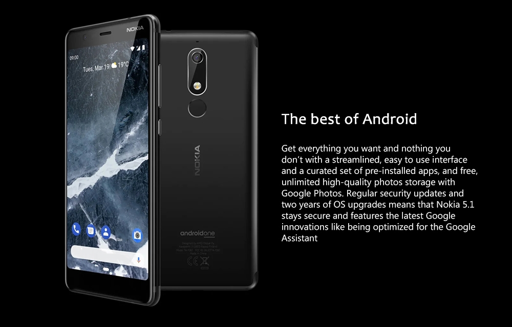 Nokia 5.1 4G Phablet 3GB RAM 32GB ROM