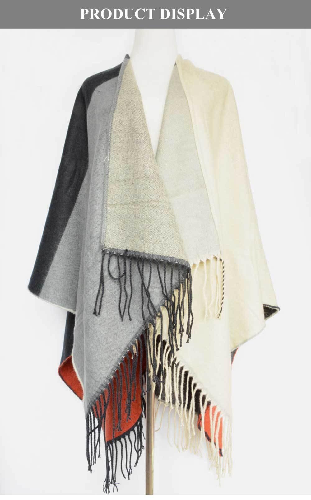 Fashionable Oversize Tassel Scarf for Women