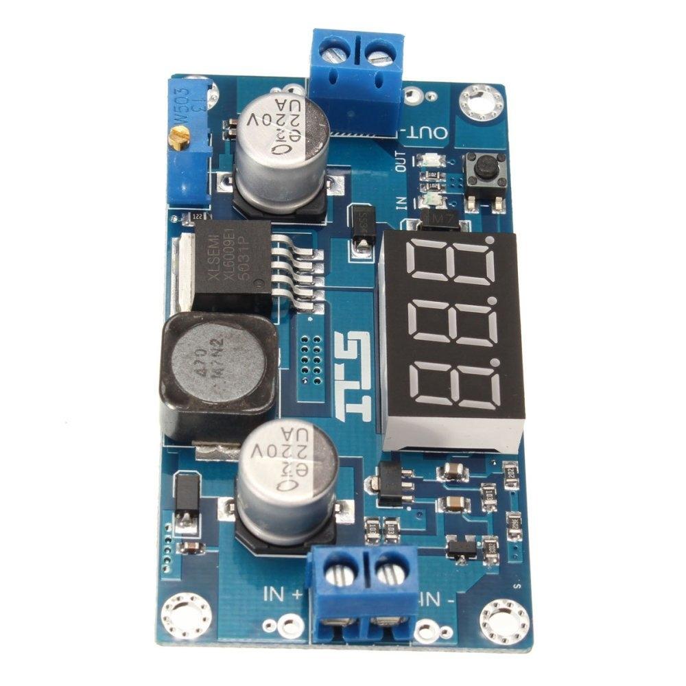 Buy Oem 400khz Dc 45 32v To 5v 52v Xl6009 Boost Step Up Module 4a Image