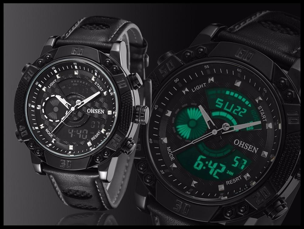 OHSEN Brand Mens Fashion Casual Reloj Quartz Watch Digital LED Relogios Military Relogio Masculino Diving Waterproof Men Watches (20)