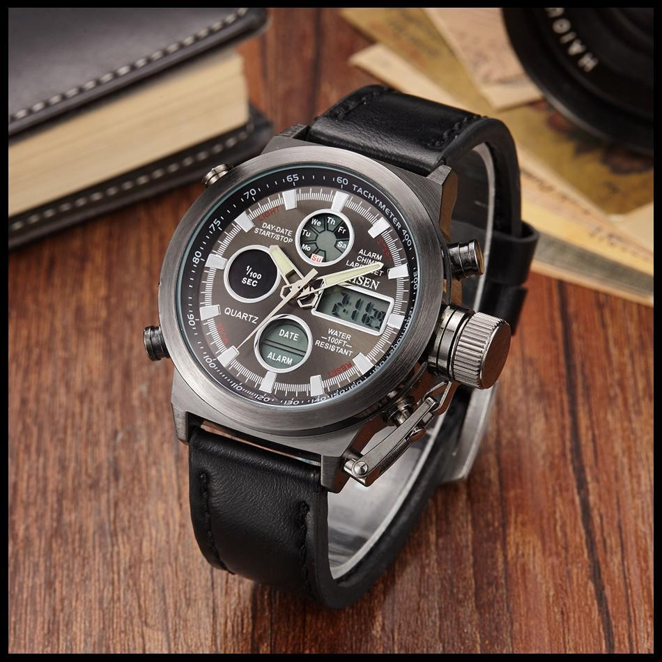 OHSEN Army Watches Men Luxury Brand Men's Sports 30m LED Military Watches  Fashion Casual Quartz Watch Relogio Masculino (29)