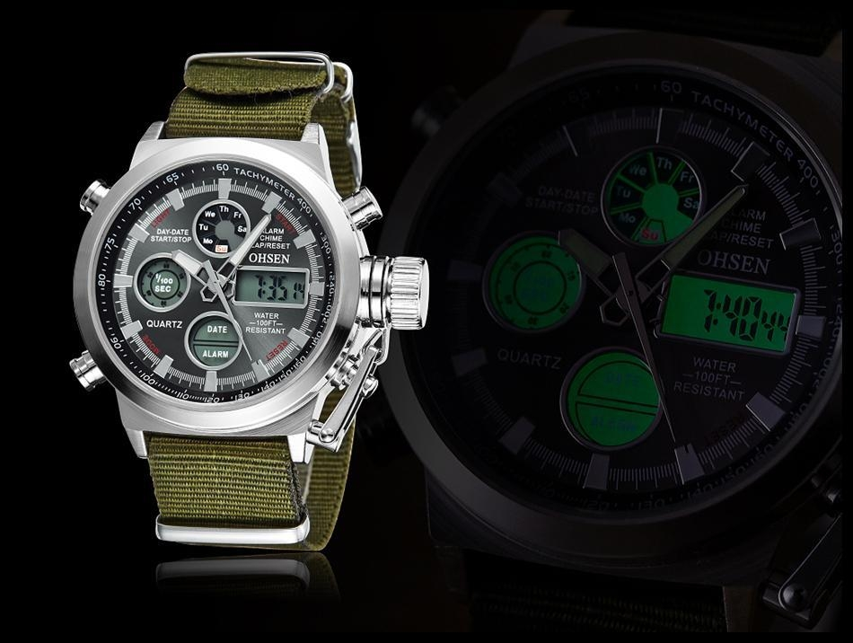 OHSEN Army Watches Men Luxury Brand Men's Sports 30m LED Military Watches  Fashion Casual Quartz Watch Relogio Masculino (19)