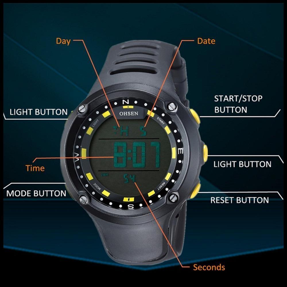 2017 New OHSEN Brand Men LED Digital Military Watch, 50M Dive Swim Dress Sports Watches Fashion Outdoor Wristwatches Men (5)