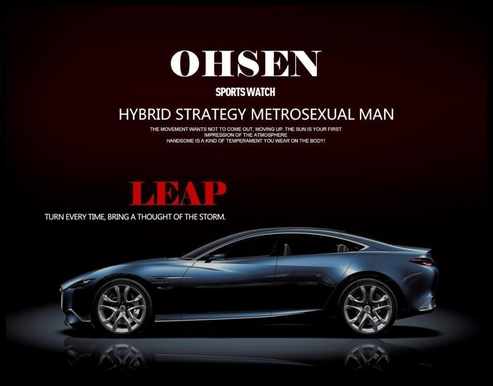 2017 New OHSEN Brand Men LED Digital Military Watch, 50M Dive Swim Dress Sports Watches Fashion Outdoor Wristwatches Men (2)