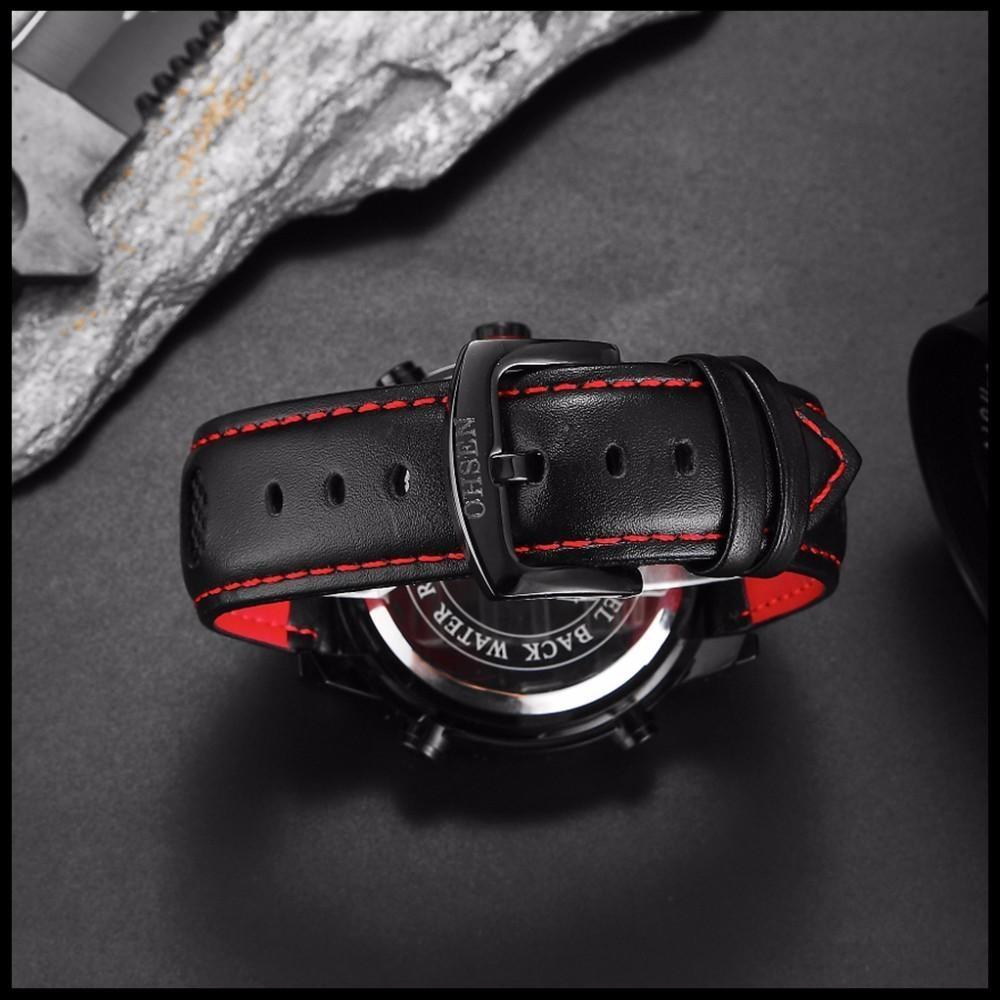 OHSEN Brand Mens Fashion Casual Reloj Quartz Watch Digital LED Relogios Military Relogio Masculino Diving Waterproof Men Watches (43)