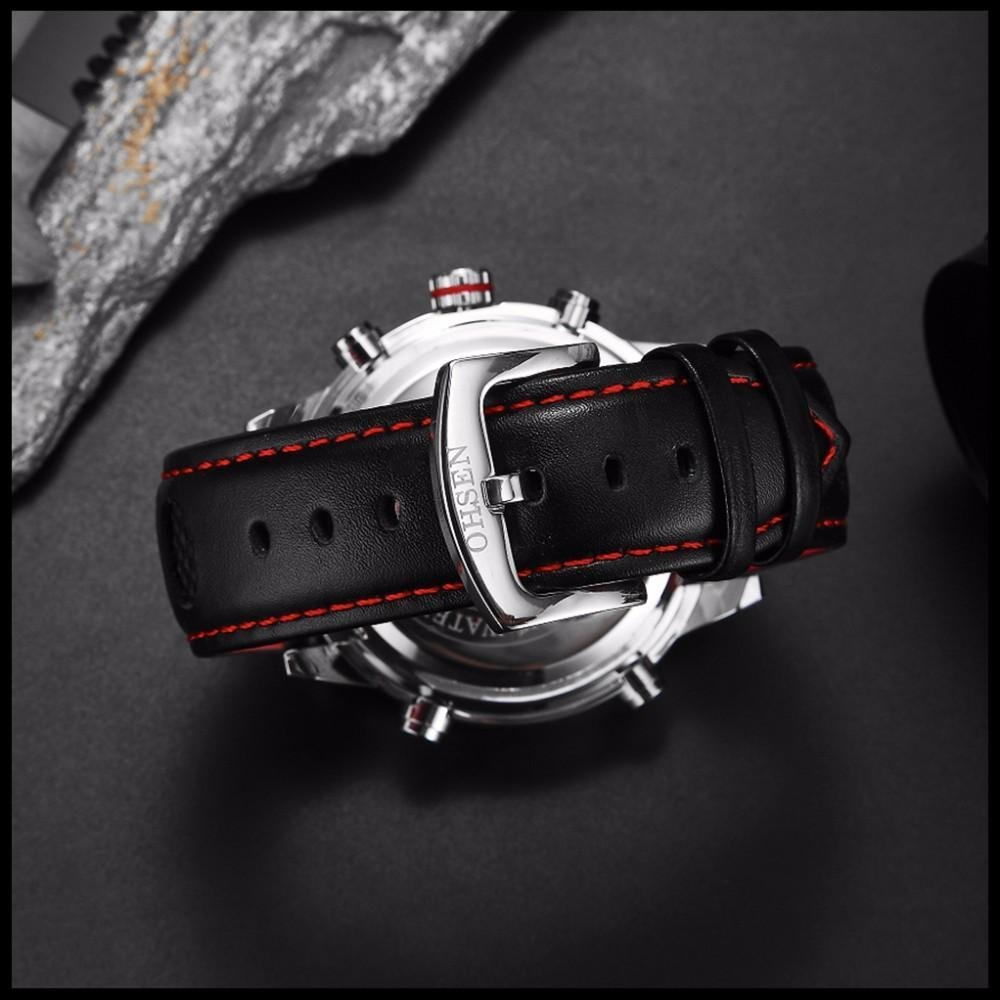 OHSEN Brand Mens Fashion Casual Reloj Quartz Watch Digital LED Relogios Military Relogio Masculino Diving Waterproof Men Watches (32)