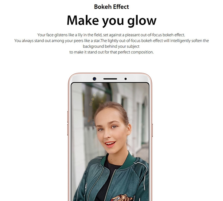 OPPO A73 4GB RAM 32GB ROM Helio P23 MTK6763T 2.5GHz Octa Core 6.0 Inch FHD+ Full Screen Android 7.1 4G LTE Smartphone
