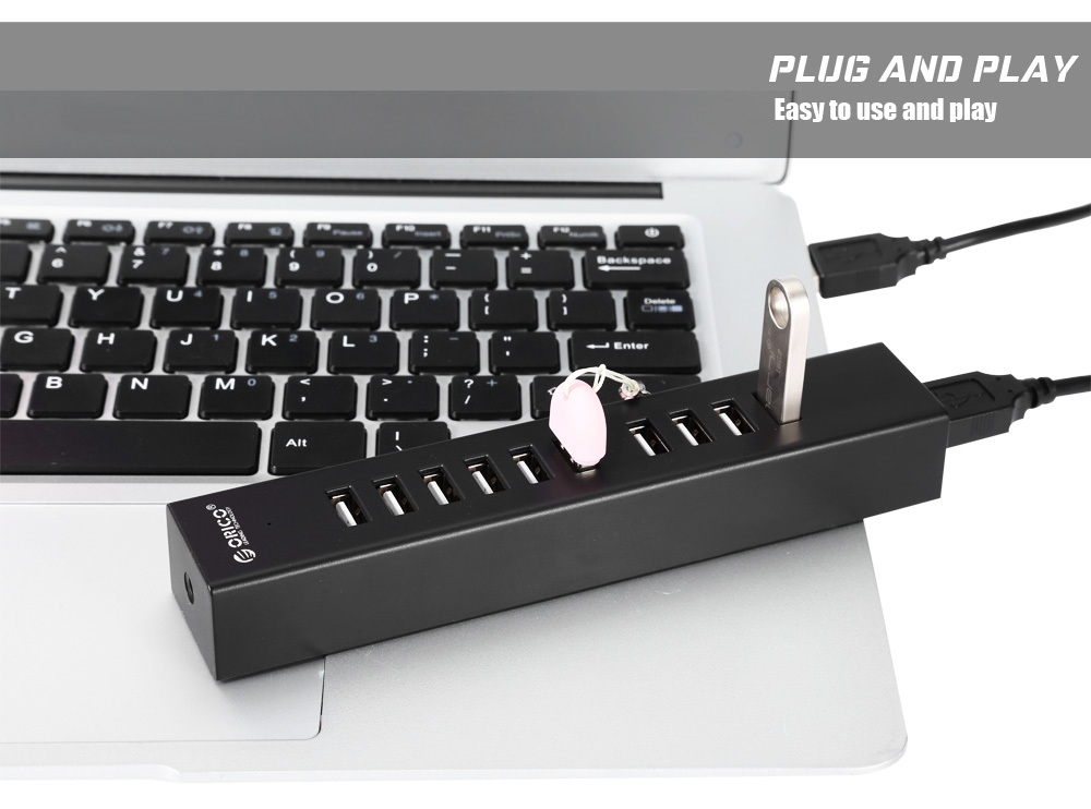 ORICO H1013 - U2 10 Ports USB2.0 Extension HUB