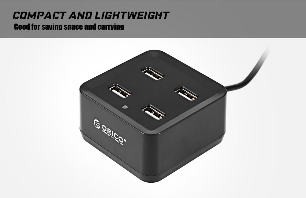 ORICO DH4U - U2 Square Shape 4 Ports USB2.0 Extension HUB