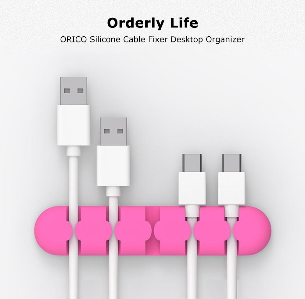 ORICO CBS5 Silicone Cable Fixer Desktop Management Organizer