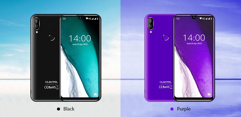 OUKITEL C16 Pro 4G 5.71-inch Waterdrop Smartphone MT6761 Cortex-A53 4-core 3GB RAM 32GB ROM