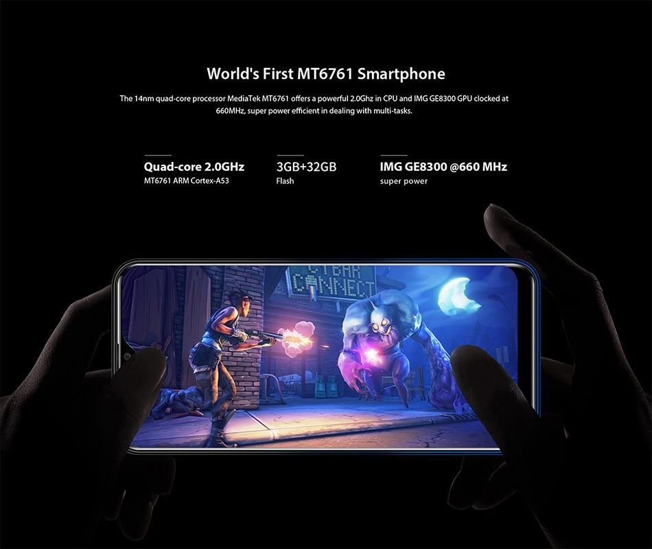 Oukitel OUKITEL C15 Pro+ 6 088'' 3GB 32GB Waterdrop Screen