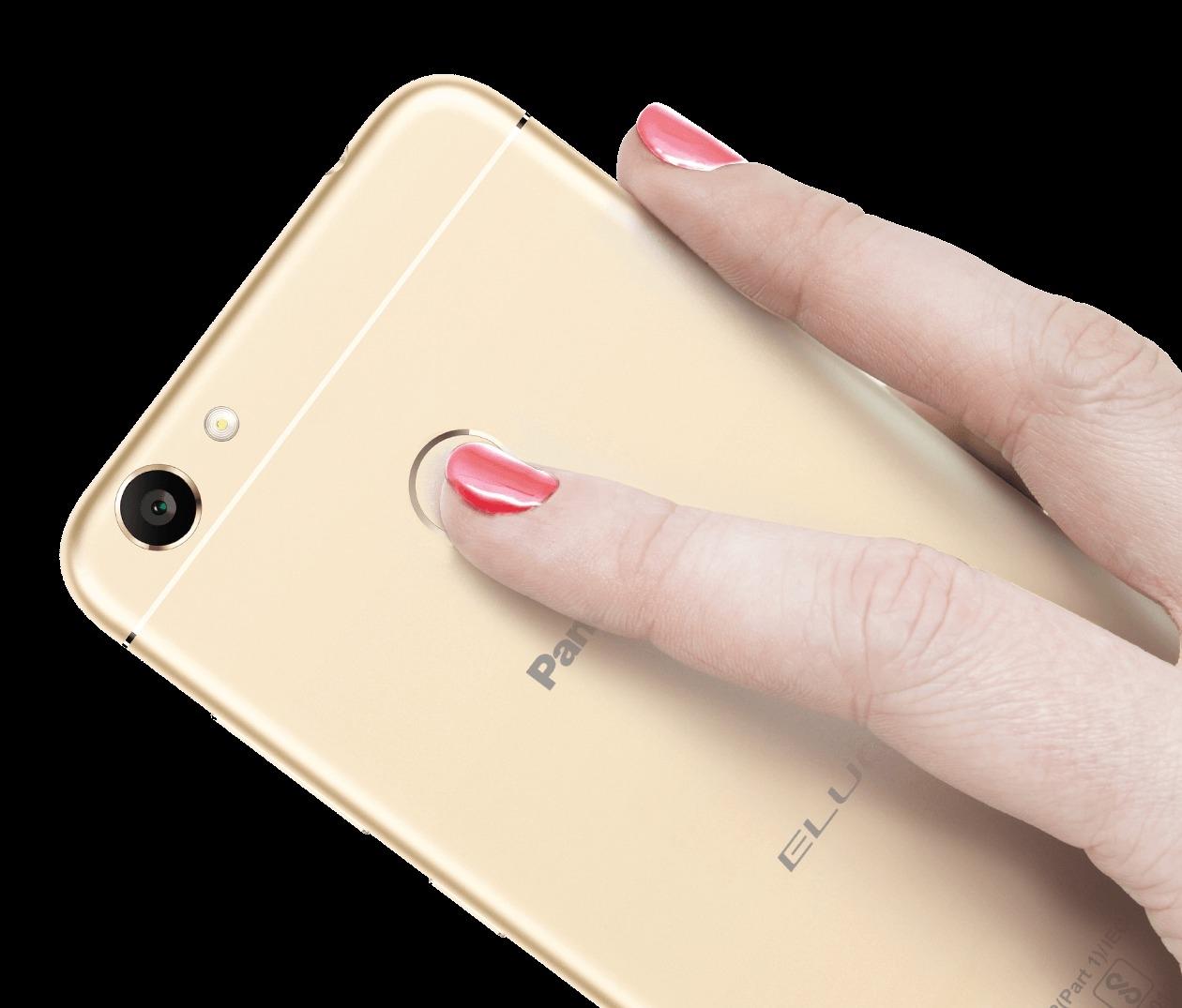 panasonic eluga i5 rear fingerprint scanner