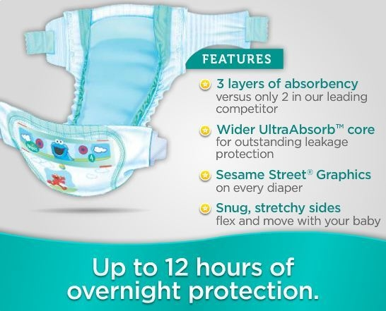 Image result for Baby-Dry Diapers