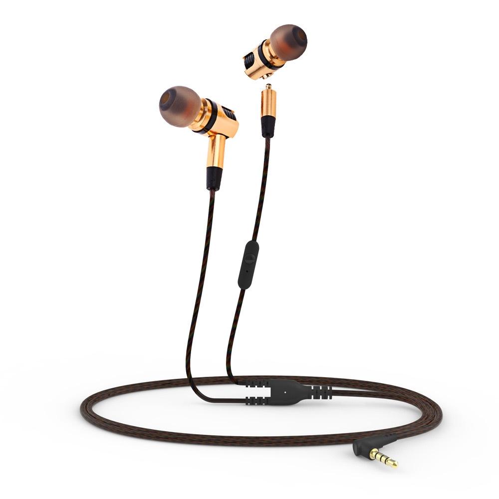 Plextone X46M Detachable HiFi In-ear Earphones with MIC