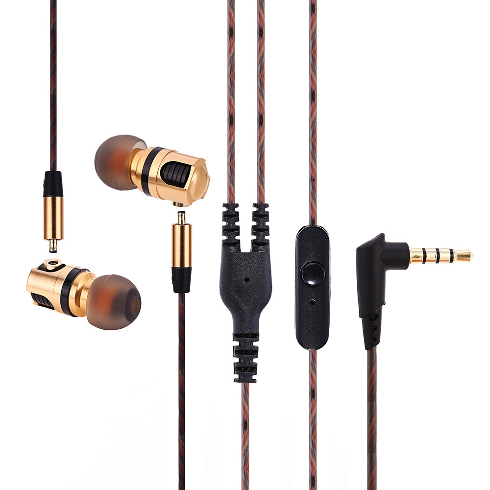 Plextone X46M Detachable HiFi In-ear Earphones with MIC