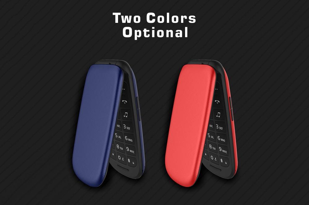 PLUZZ P523 2G Feature Phone 2.4 inch MTK 6261D Single Core 260MHz 32MB RAM 32MB ROM 1.3MP Rear Camera 750mAh Detachable