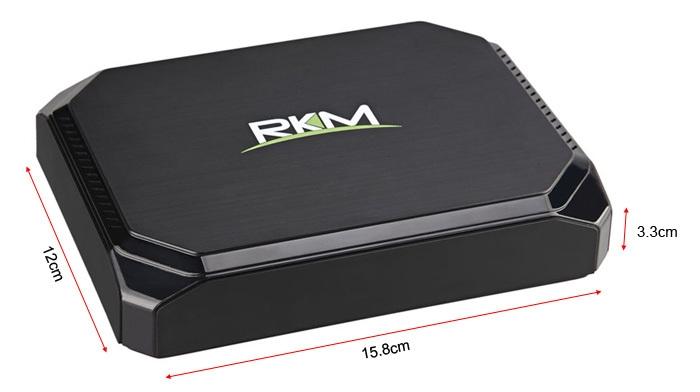 Rikomagic RKM MK36S TV Box Cherry Trail Z8300 Windows 10 2GB RAM 32GB ROM 2.4GHz / 5.8GHz Dual Band WiFi