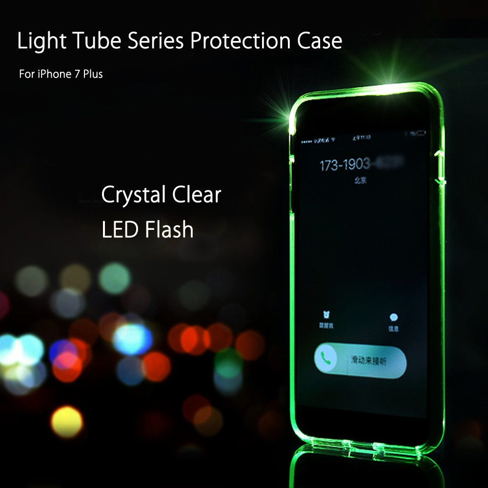iphone led flash light series led flash protective for iphone 7 1212