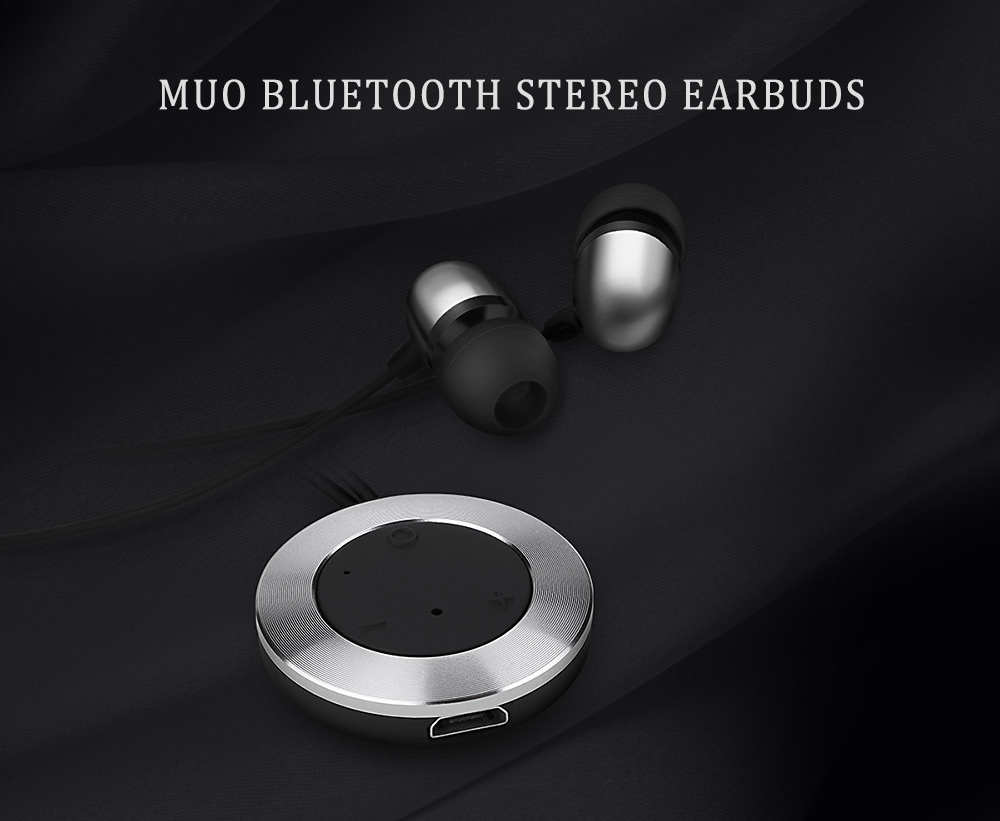 Rock MuO Wireless Bluetooth HiFi Music In-ear Sport Earbuds Super Bass with Microphone